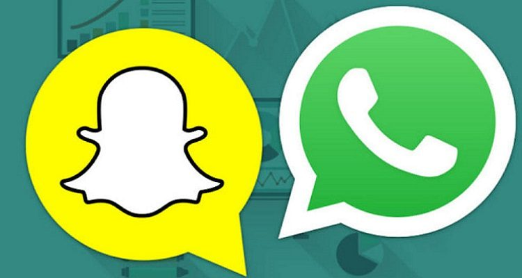 whatsapp snapchat