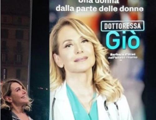 La Dottoressa Giò cast con Barbara D'urso e Christopher Lambert