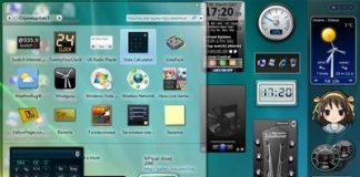 gadget per Windows 7