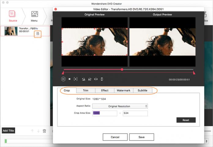 masterizzare video da MKV a DVD