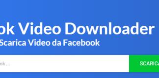 scaricare video di Facebook
