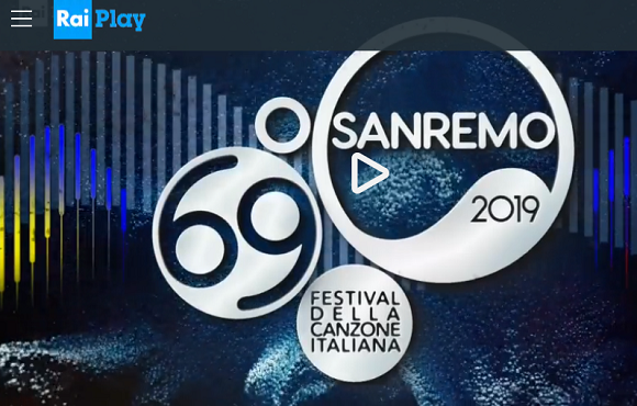 SanRemo 2019 Replay raiplay streaming